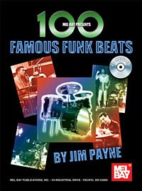 100 Famous Funk Beats Book / CD