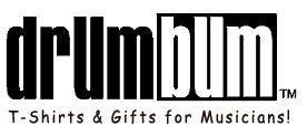 DRUM BUM: T-shirts and Music Gifts for Drummers!