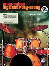 Afro-Cuban Big Band Drumset Play-Along Book/CD