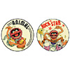Animal Muppet Buttons