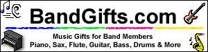 Music Gifts for Guitar, Bass, Drums, Sax, Flute, Violin, Piano