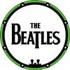 Beatles Drumhead Button