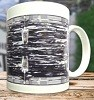Black Oyster Pearl Drum Mug