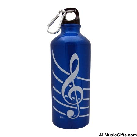 Treble Clef Sports Bottle