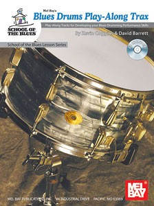 Blues Drums Play-Along Trax Book / CD