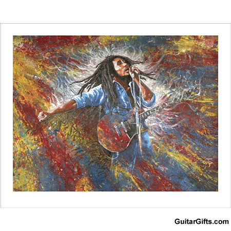 Bob Marley Art Print