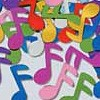 Music Note Confetti - Colorful