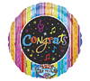 Congrats Singing Notes Balloon