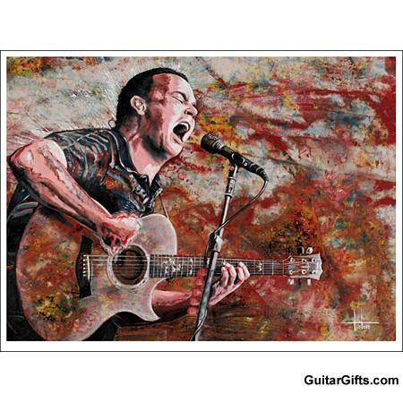 Dave Matthews Art Print