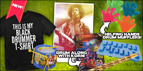 drum bum music gift ideas