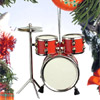 christmas drumset ornament