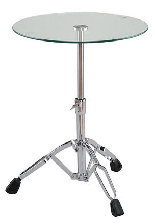 Drum Table Glass