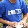 DRUM BUM Logo T-shirt - Blue