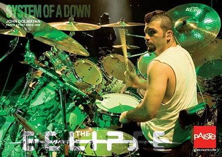 DRUM BUM: POSTERS: POSTERS: John Dolmayan Drummer Poster, System ...
