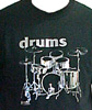 Silver Drumset T-shirt