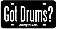 drums license plate