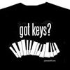 Got Keys? T-shirt