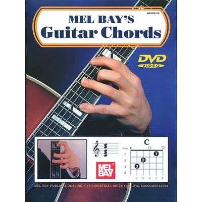 MUSIC GIFTS: GUITAR: MISC: Guitar Chords Book DVD