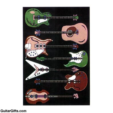 Lovely Guitar Rug