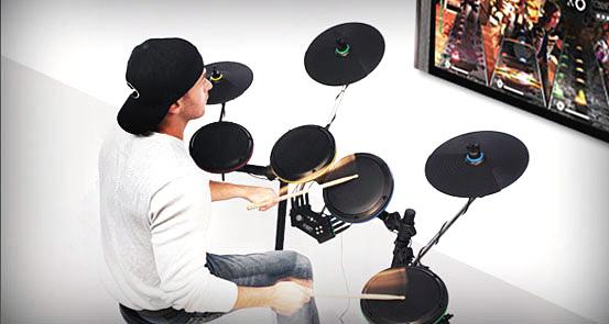 Ion Rock Band Drum Set Drumbum Com