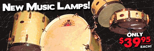 New Music Lamps!