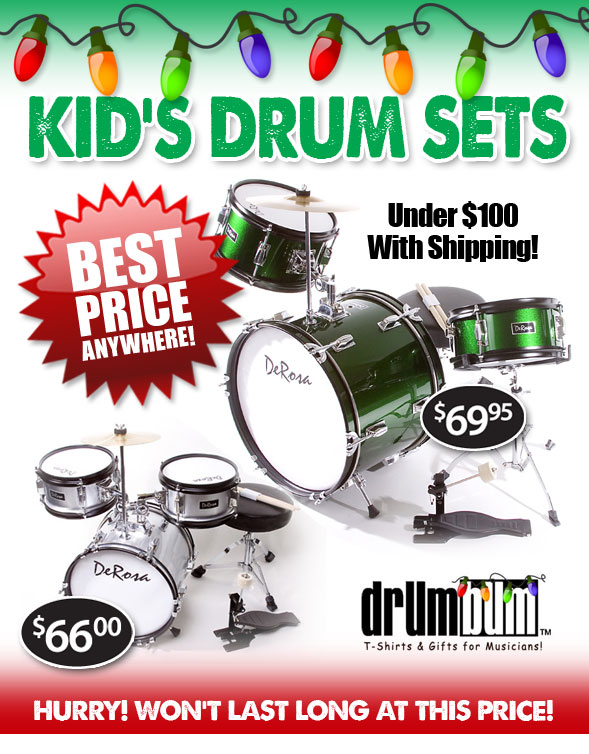 Kid's Drumsets on Sale!
