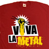 Viva la Metal Drums T-shirt