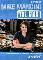Mike Mangini DVD -The Grid