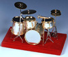 MINIATURE Drumset - Drums