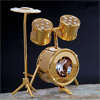 mini drum set with crystals