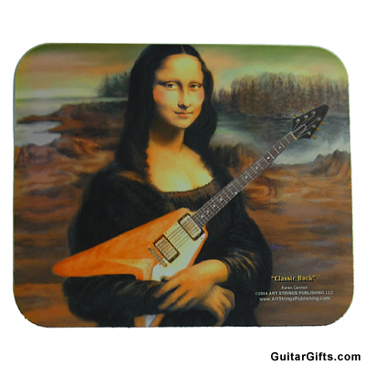 Item MGMP-9 Mona Lisa Guitar Mousepad - Find out what Mona Lisa is...
