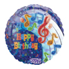 Music Note Balloon - Birthday