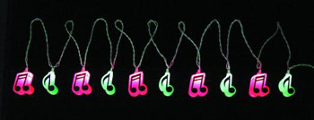 MUSIC GIFTS: Notes: Music Notes String Lights