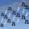 Music Notes Ceiling Decoration