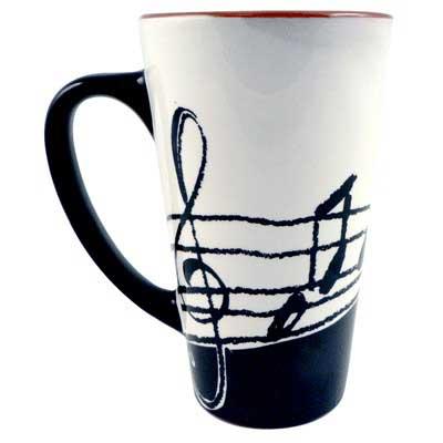 Music Latte Mug