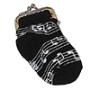 Music Notes Sock Change Purse