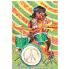 """Peace"" Drum Greeting Cards"