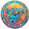 Personalized Drumset Clock
