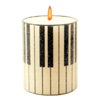 Piano Keys Candle