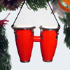 Red Conga Drums Ornament
