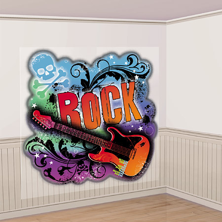 rock star wall decorations create an rockin atmosphere in any room
