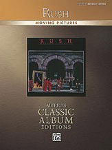 "Rush ""Moving Pictures"" Drums Book"