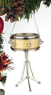 Snare Drum Christmas Ornament