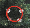 Tambourine Christmas Ornament