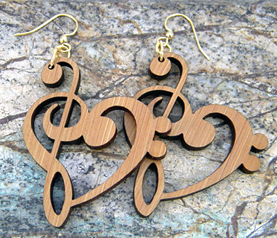Treble Clef Heart Earrings Jpg