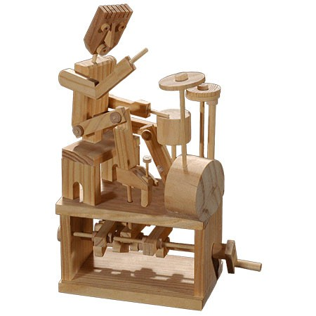 DRUM BUM: DRUMS: KIDS TOYS: Build A Drummer Timber Kit