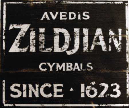 Zildjian Vintage Sign