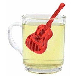 guitar gifts tea infuser