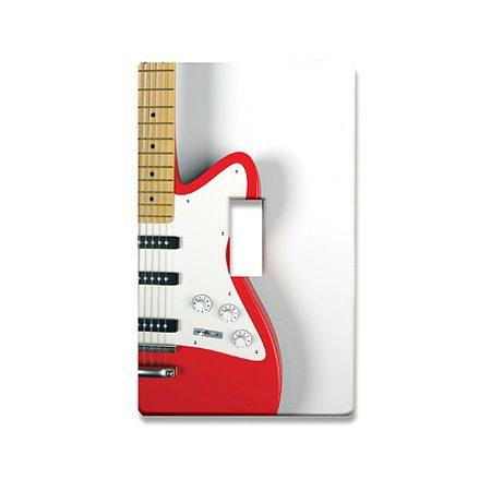 Guitar Lightswitch Plate from DrumBum.com