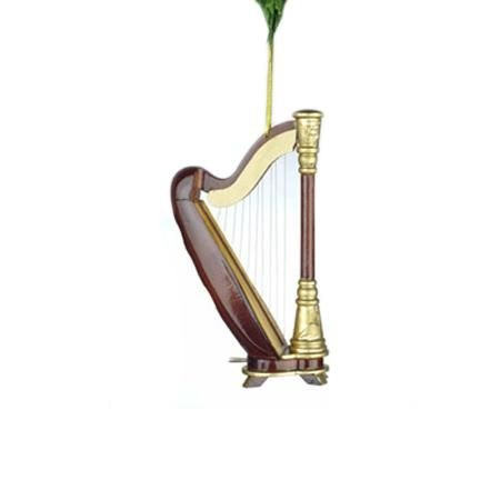 Miniature Harp Christmas Ornament from DrumBum.com
